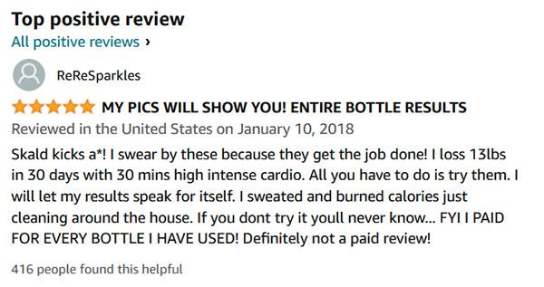 Positive skald reviews